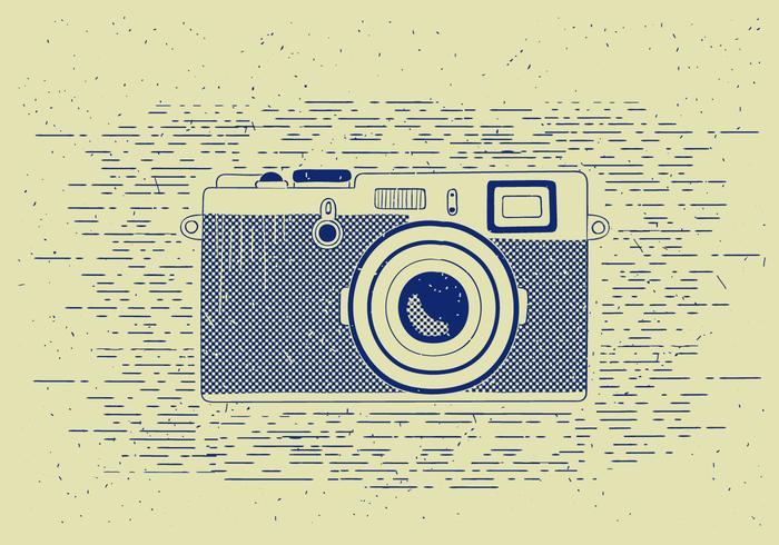 Free Vector Detailed Camera illustration