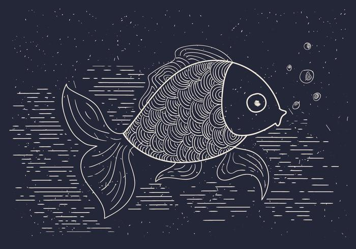 Free Detailed Vector Illustration of Fish