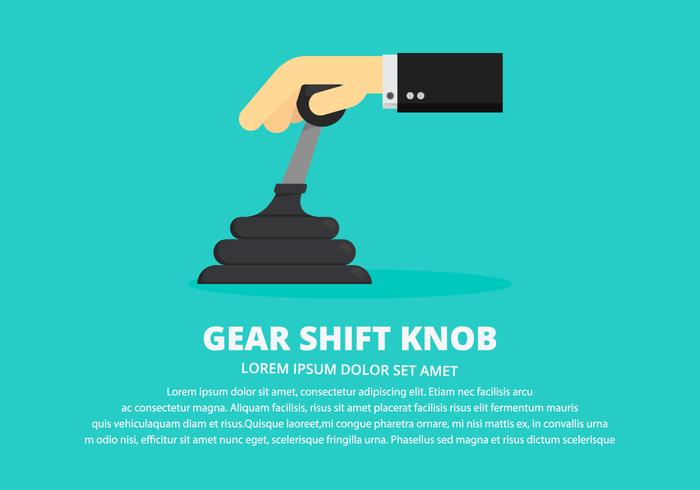 Gear Shift Knob Illustration