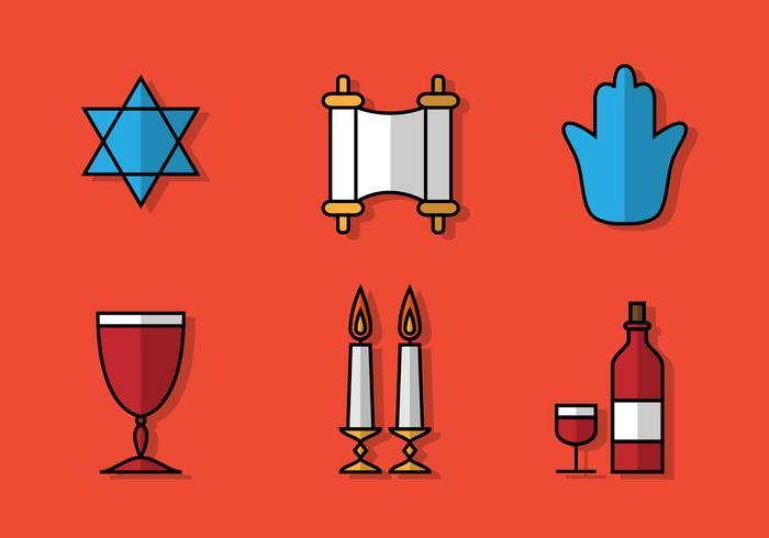 Icona di Shabbat piatto