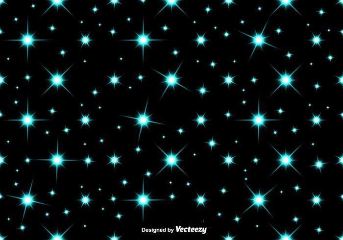 Vektorblå stjärnor SEAMLESS PATTERN