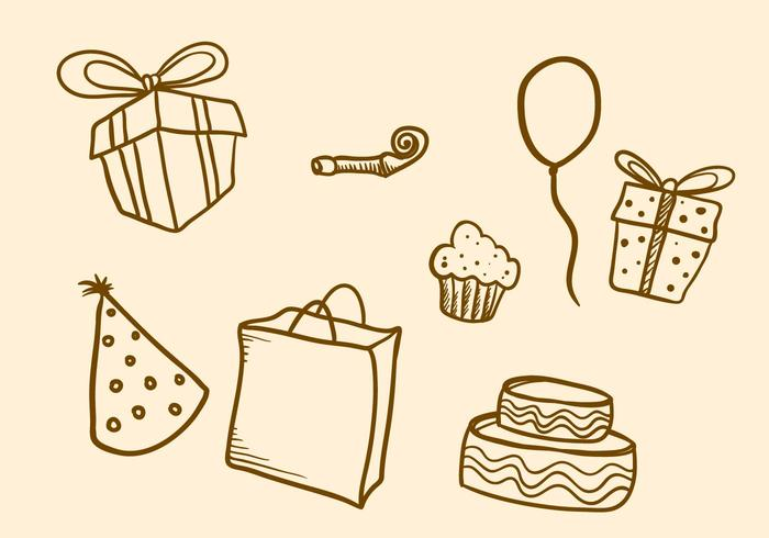 Free Party Favors Vector