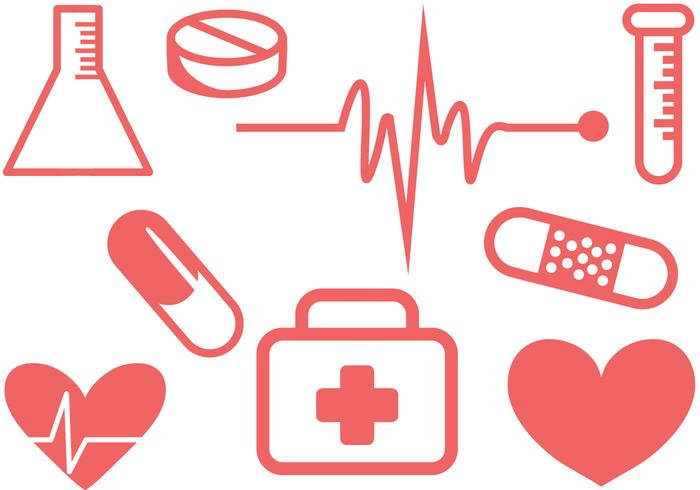 Vectores médicos simples libres