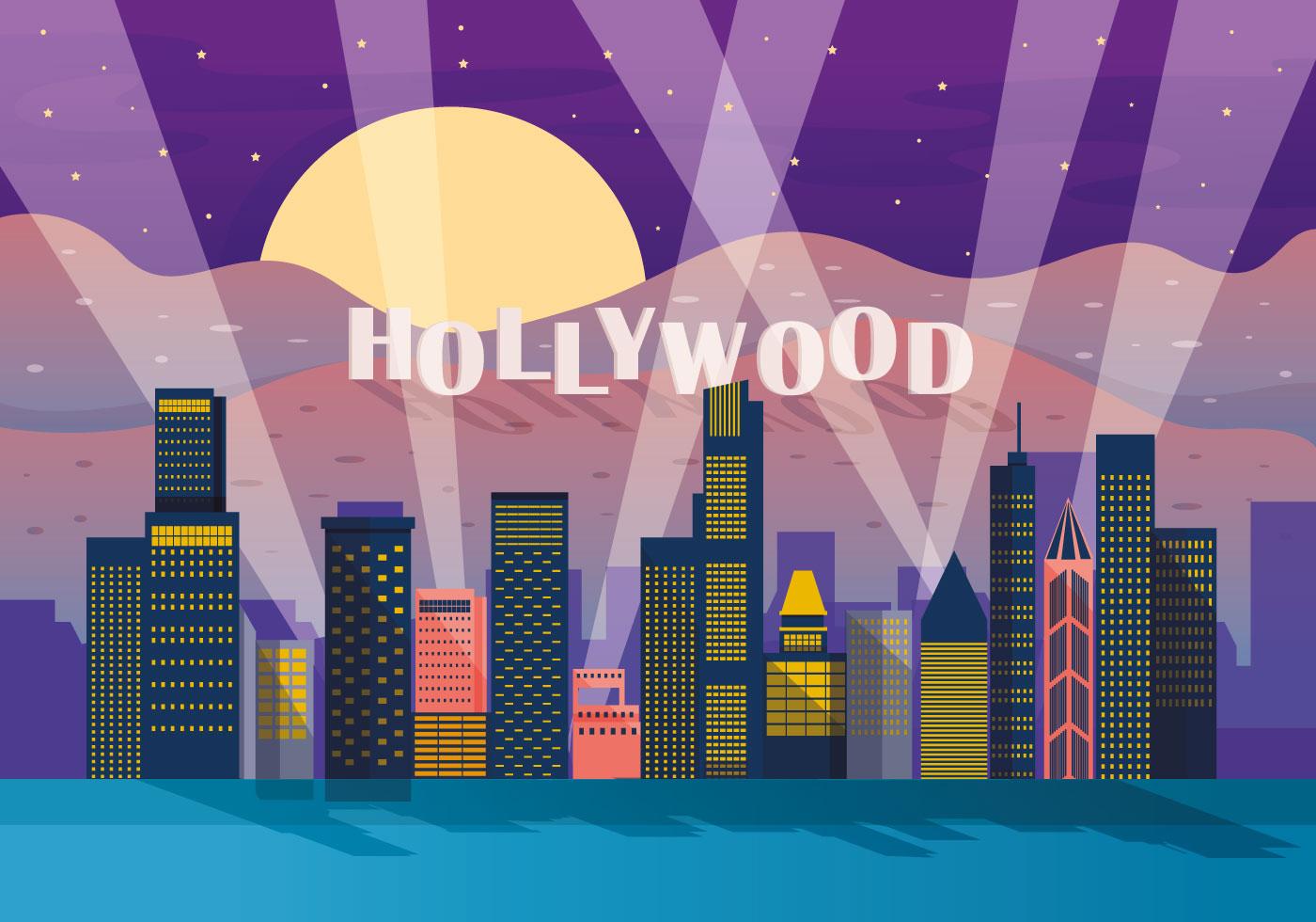 Hollywood Light Vector Download Free Vectors Clipart