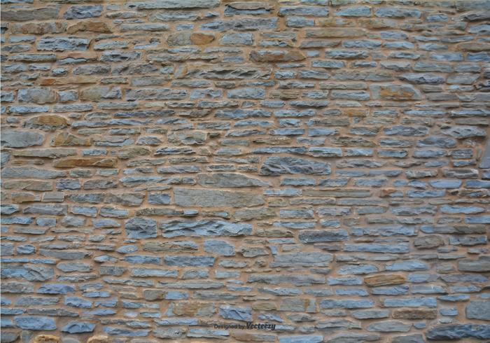 Stone Wall Vector Background