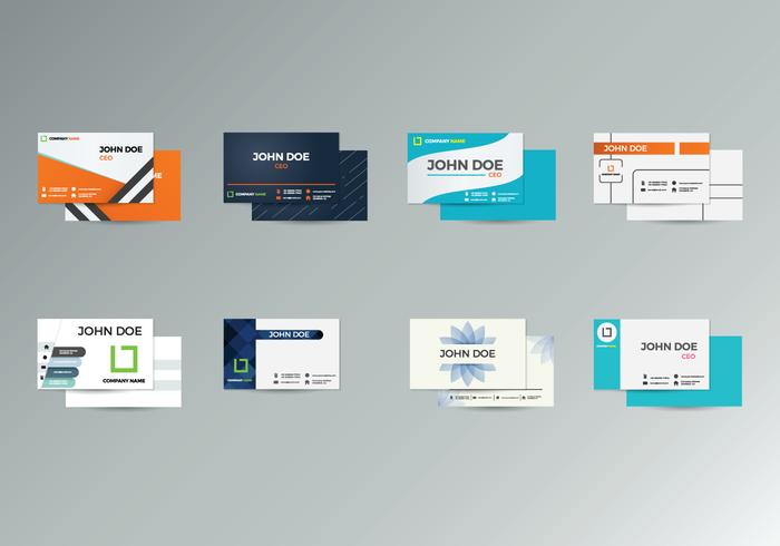 Free Name Card Vector - Download Free Vector Art, Stock Graphics