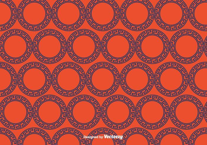 Greek Circular Ornament Pattern