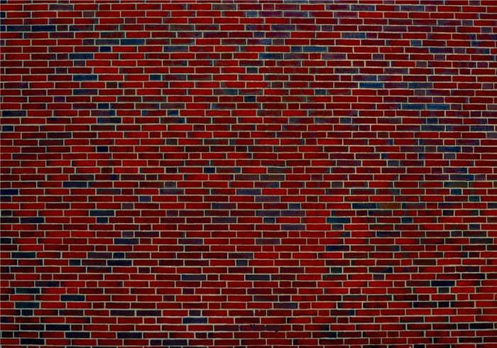 Vecchia struttura del muro di mattoni vettore