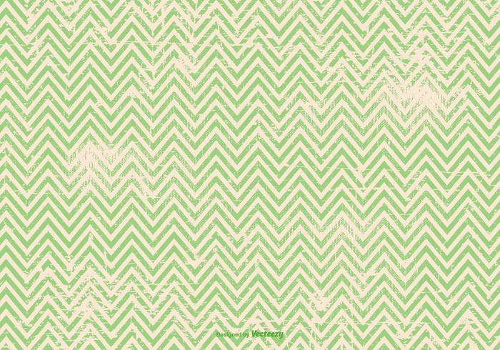 Green Grunge Chevron Background
