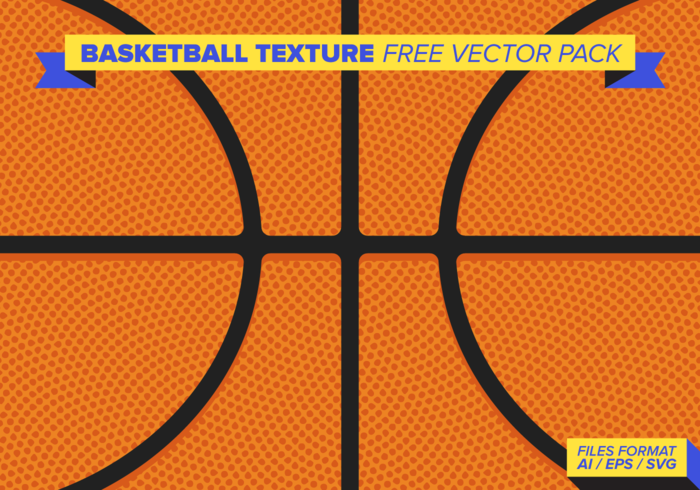 Basketball Texture Free Vector Pack