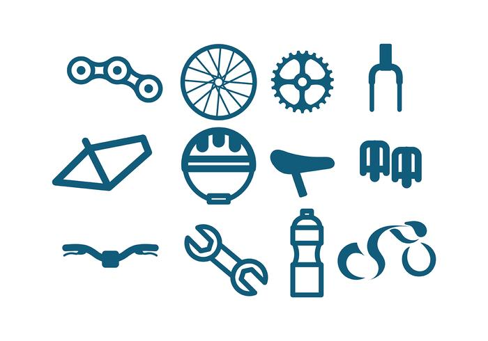 Bicicleta Icon Vector