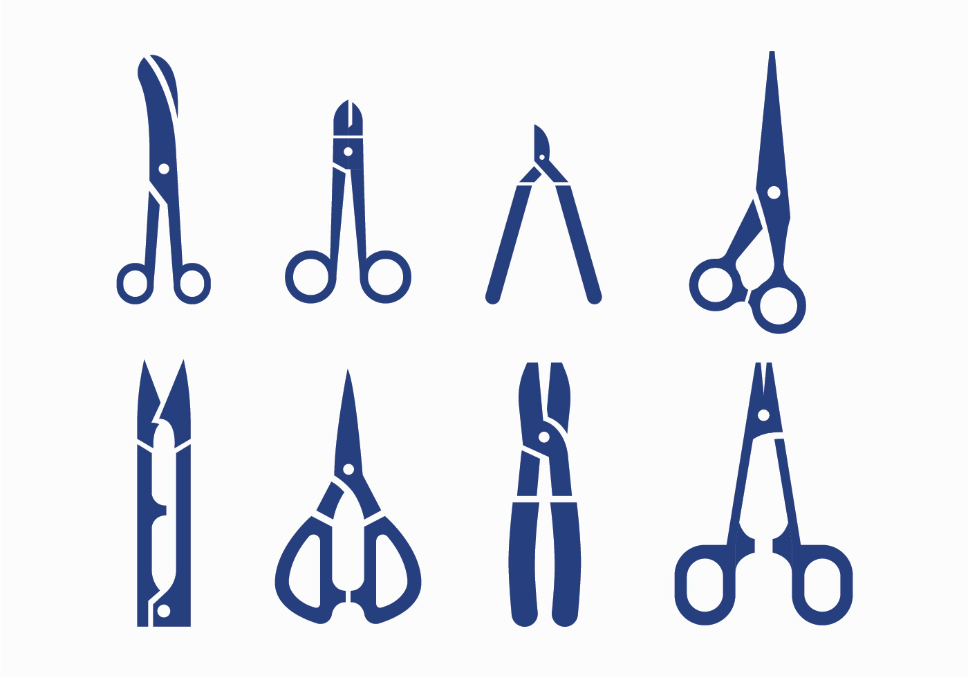 Scissors Vector Icons Download Free Vectors Clipart