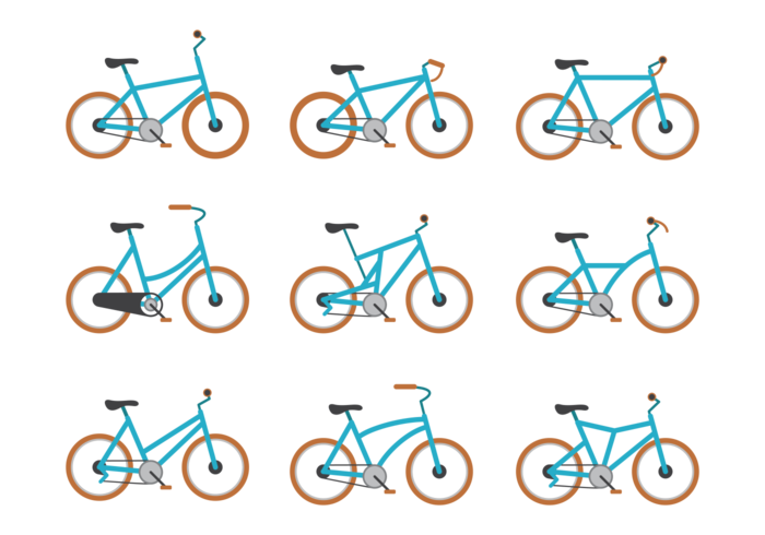 Vector Bicicleta