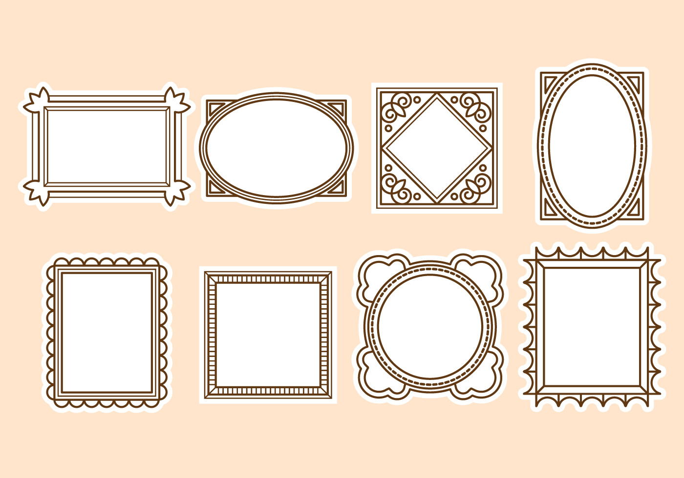 gro vintage rahmen vektor frei bilder benutzerdefinierte bilderrahmen ideen. Black Bedroom Furniture Sets. Home Design Ideas