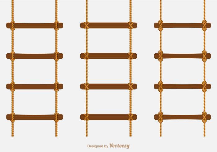 Free Vector Rope Ladders