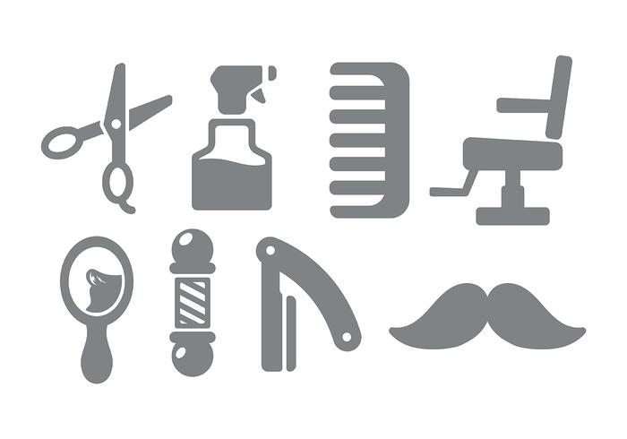 Barber Shop Icon Vektor