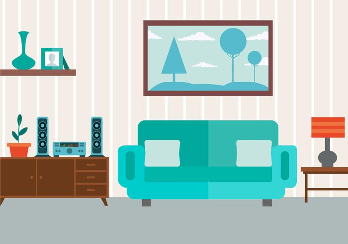 Free vector livingroom download free vector art stock for Wohnzimmer clipart
