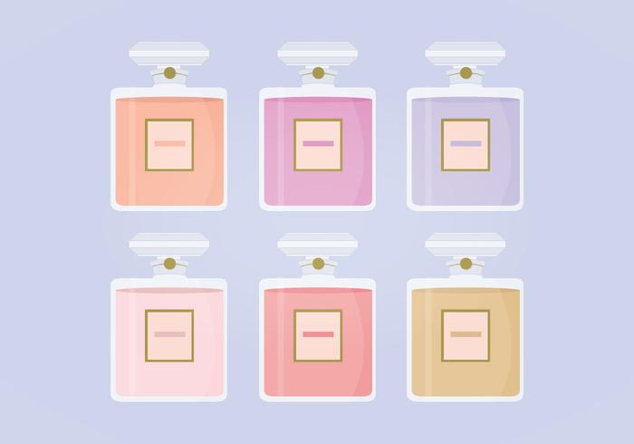 Vector Perfume Bottles Collection
