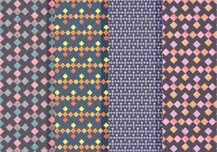 Vektor geometriska mönster