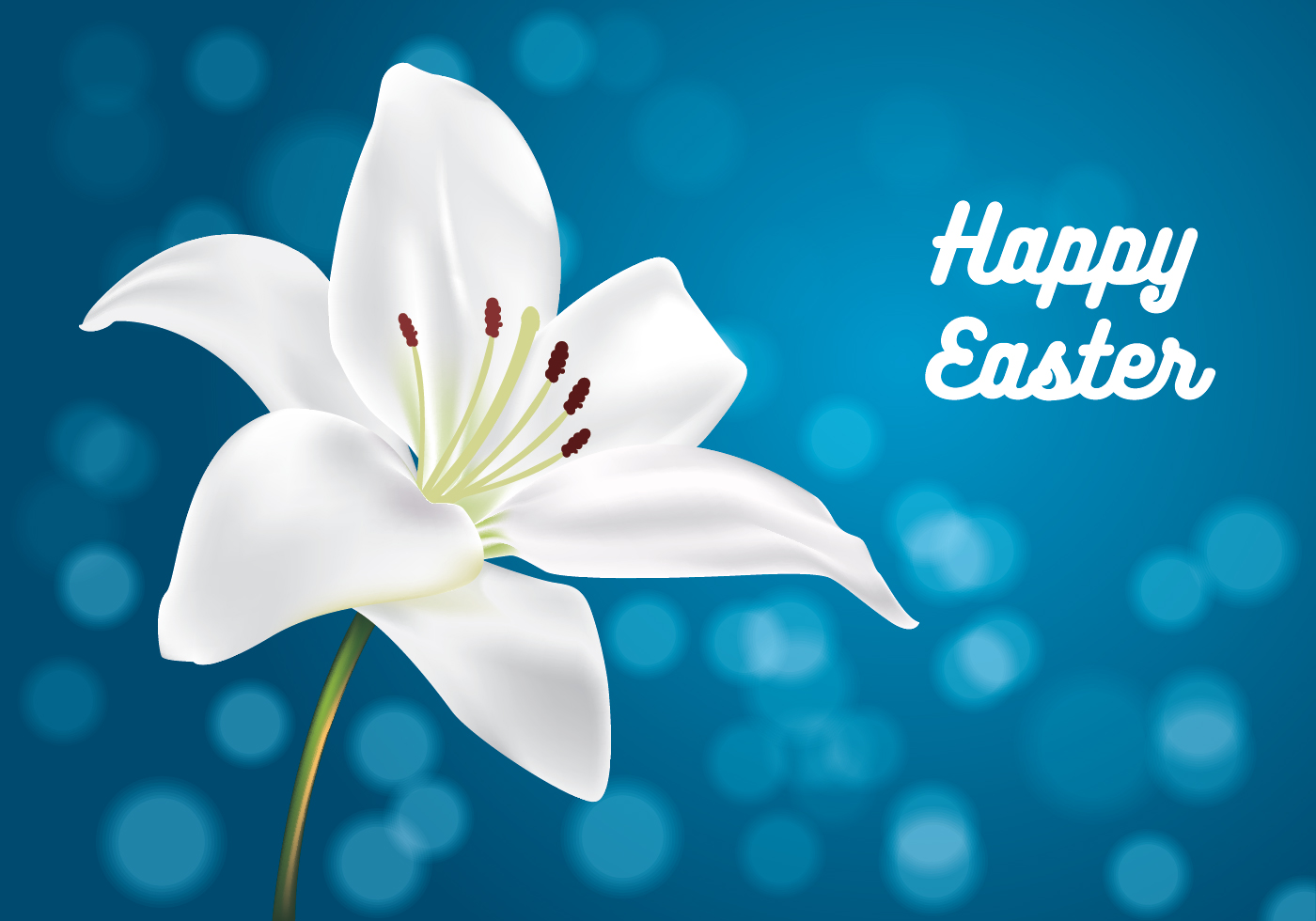 Easter Lilly Vector - ...
