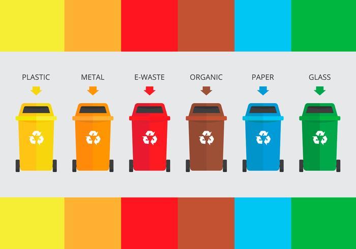 Triagem de lixo em aterro