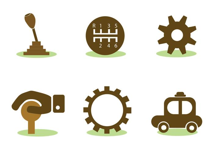 Car Elements Vector Set