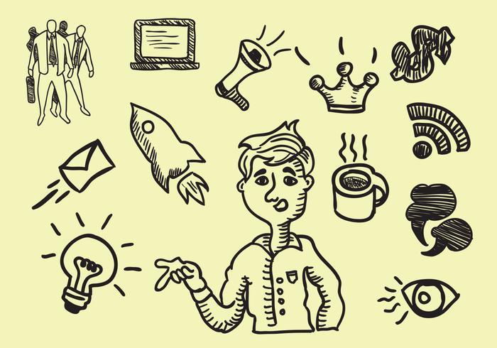 Storytelling Handrawn Icon