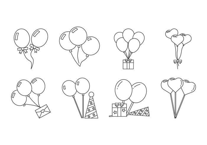 Free Balloon Icon Vector