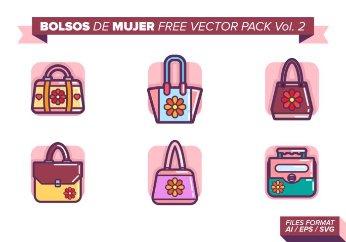 Bolsos de Mujer Gratis Vector Pack Vol. 2