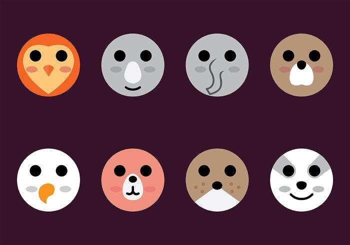Animal Head Icon Vector