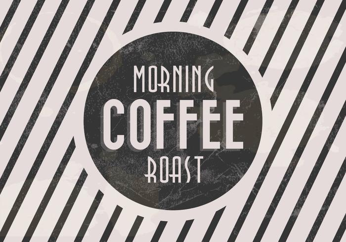 Morning Roast Coffee Vector