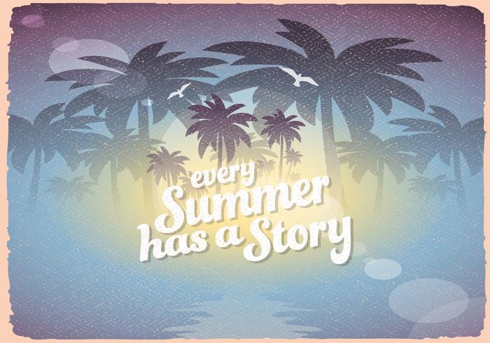 Retro Summer Sign