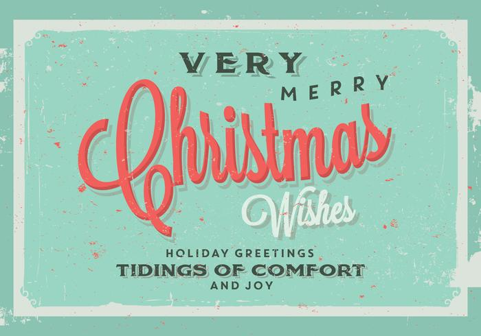 Tidings of Confort and Joy Vector