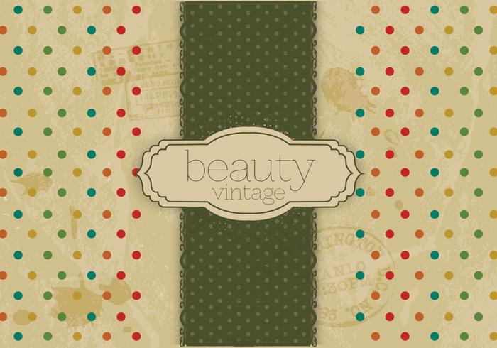Antique Beauty Logo Vector