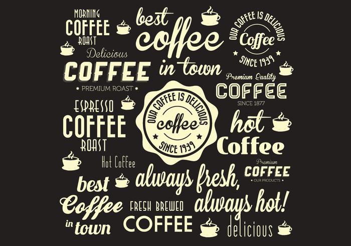 Coffee Fanatic Vector