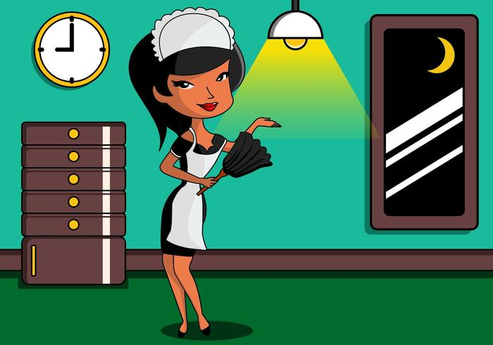 Cute French Maid