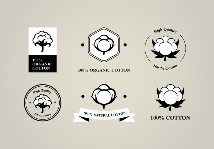 Six Flat Cotton Flower Logo