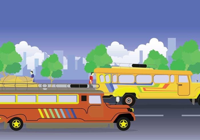 Free Jeepney Illustration