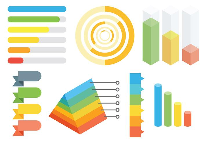 Free Infographic Elements Icons Vector