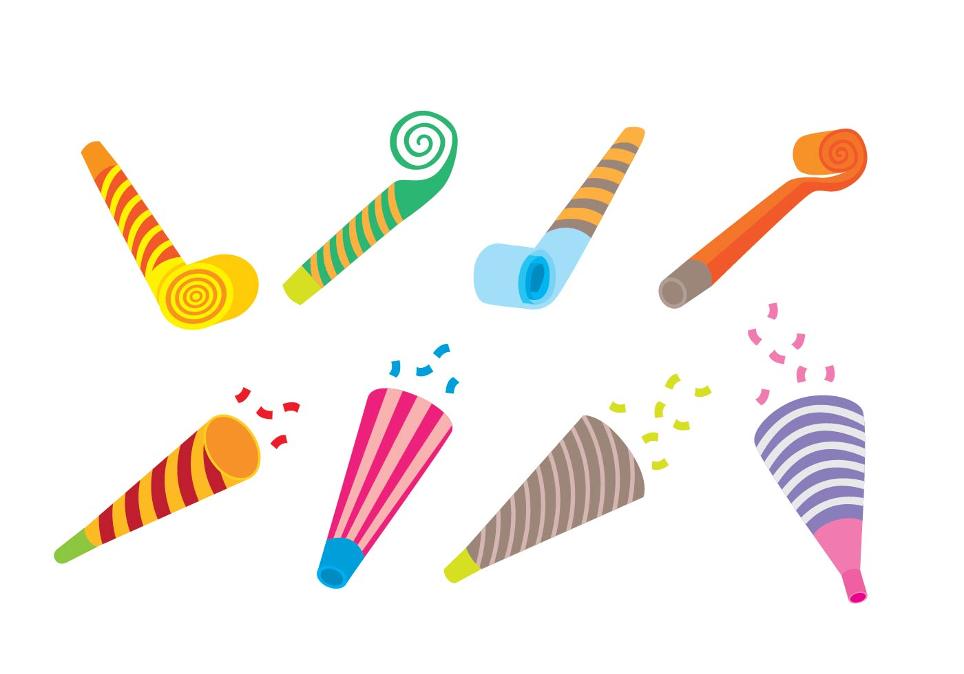 Party Blower: Download Free Vector Art, Stock