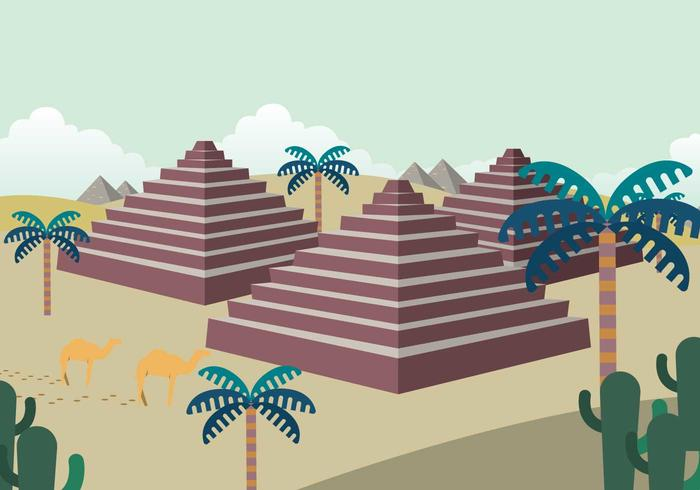 Free Piramide Illustration