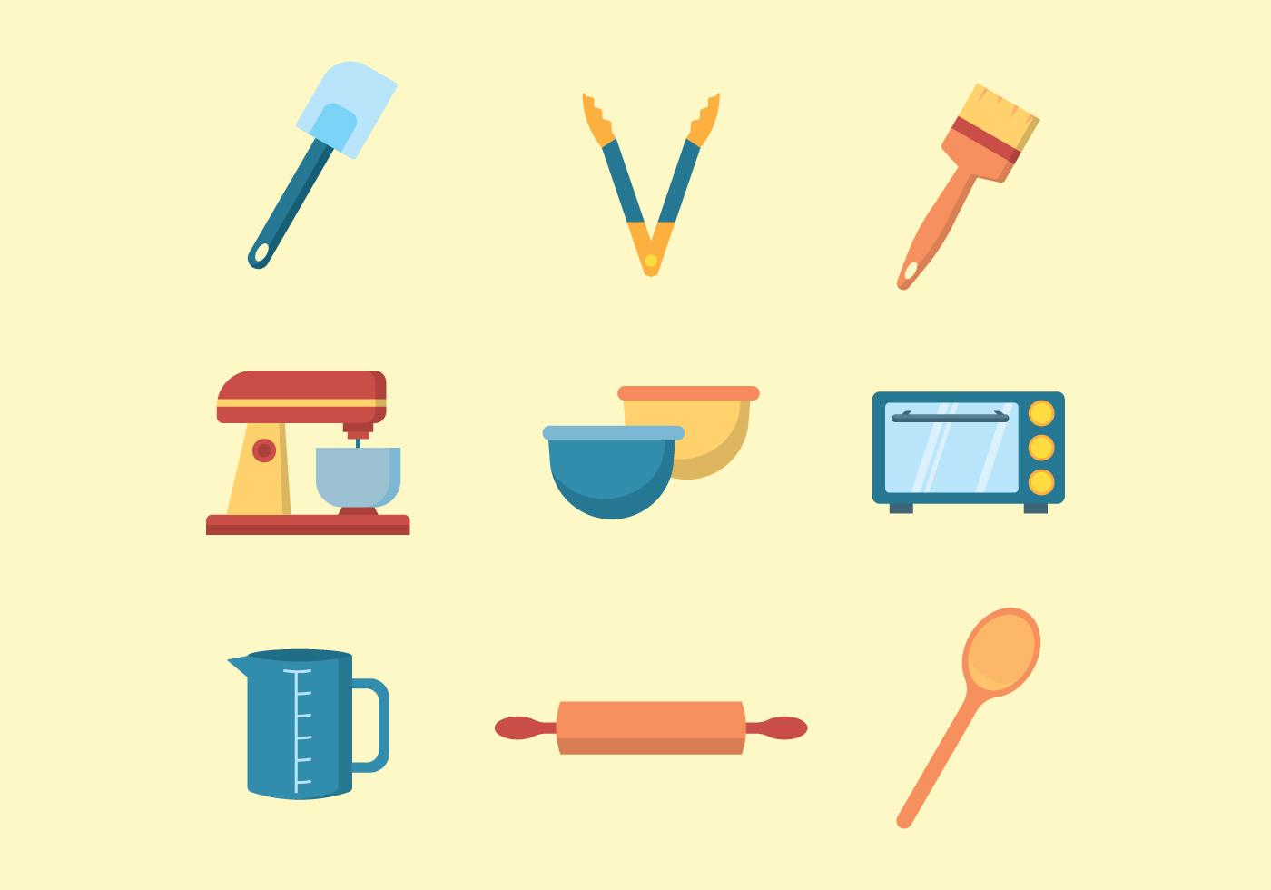 Free Baking Equiment Download Free Vectors Clipart