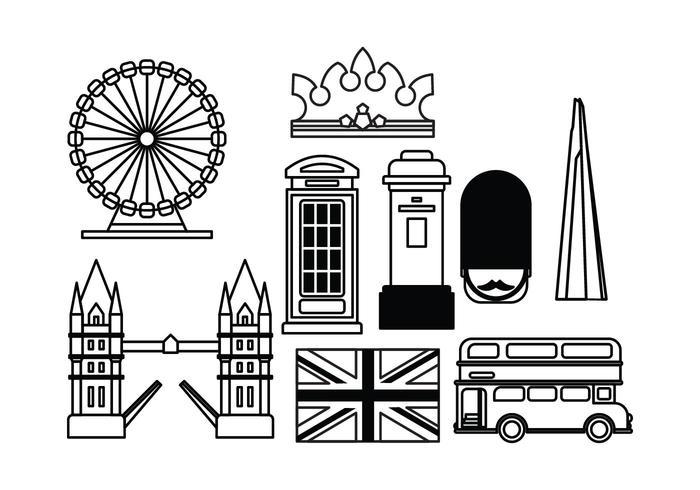 London Landmark Vectors