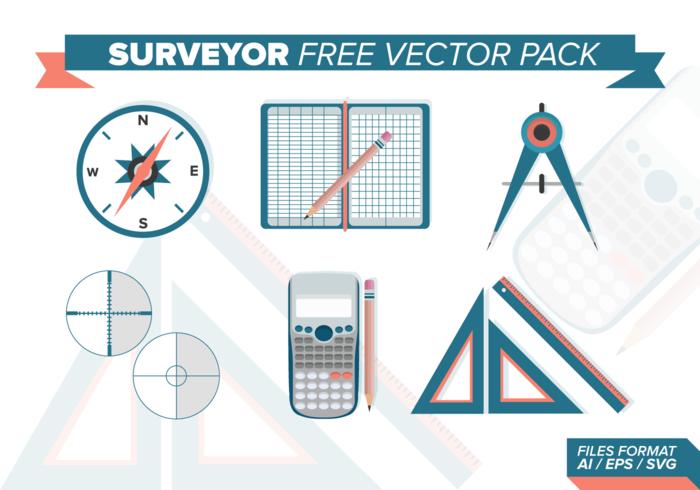 Surveyor Free Vector Pack