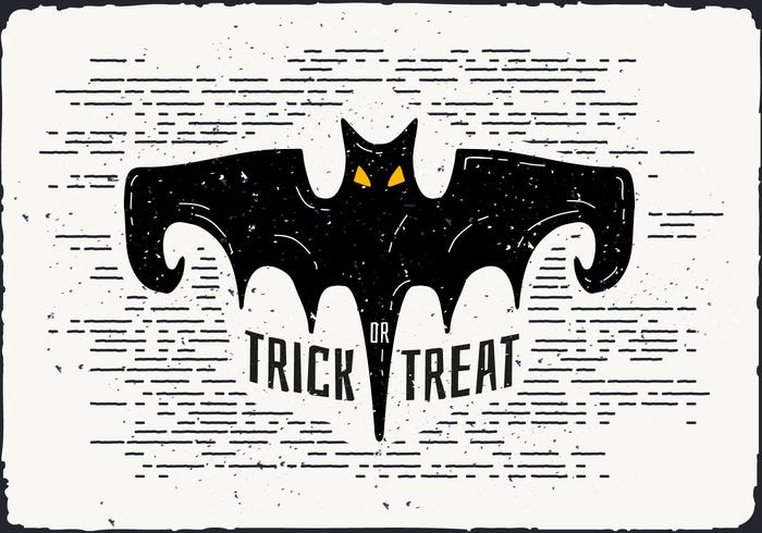 Halloween Bat Vector Illustration
