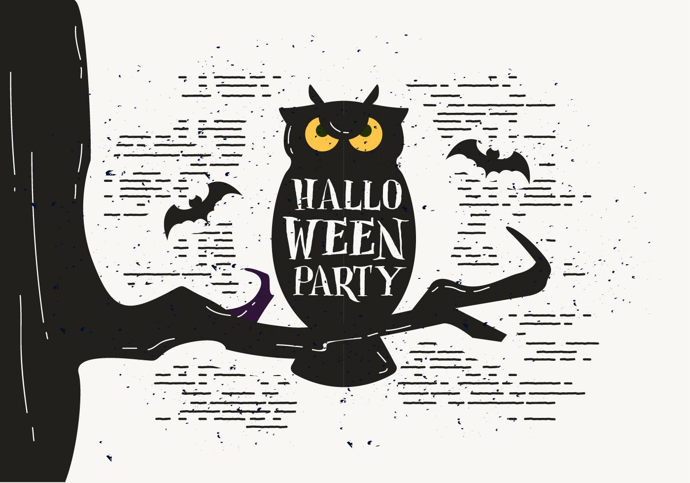 Scary Halloween Owl Vector - Download Free Vector Art, Stock ...
