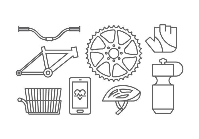 Bicycle Gear Vectors