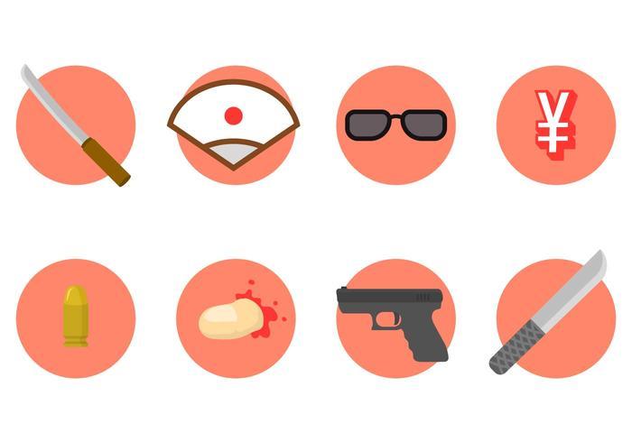 Kostenlose Yakuza Vector Icon