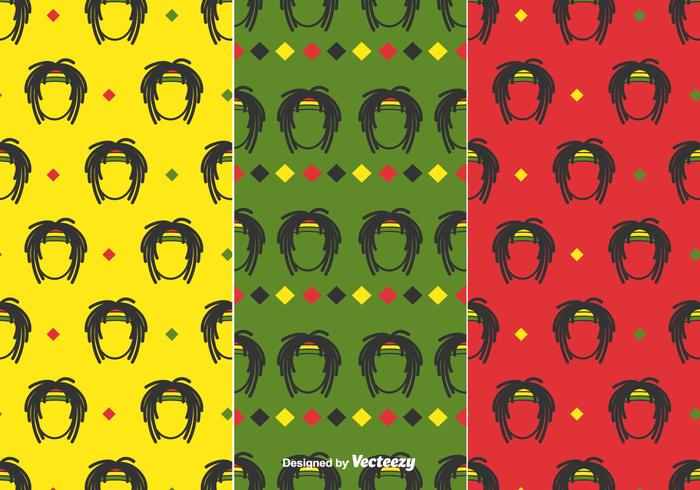 Dreads Pattern Vector