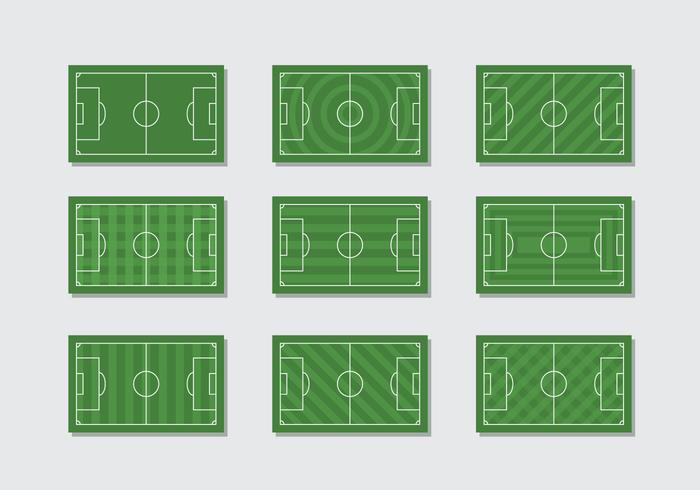 Free Football Ground Vector
